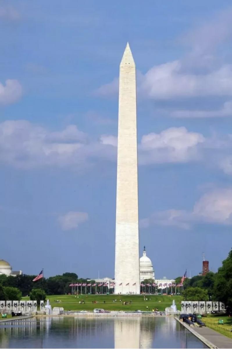 美国华盛顿纪念碑中的一块中文石碑_图1-1