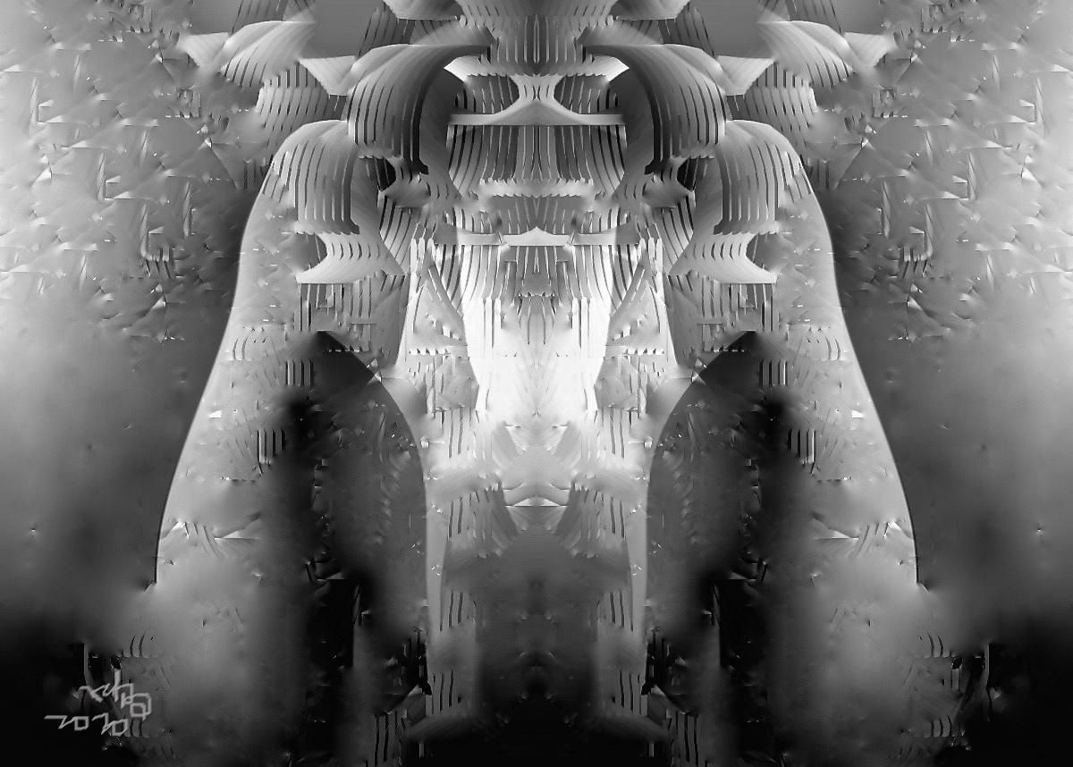 【晓鸣独创】电脑绝版绘.外星牛人_图1-1