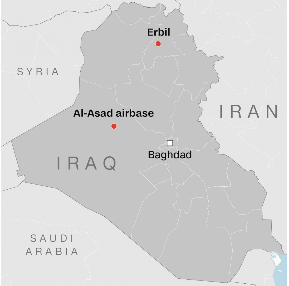 伊朗向伊拉克美军基地发射弹道导弹_图1-2