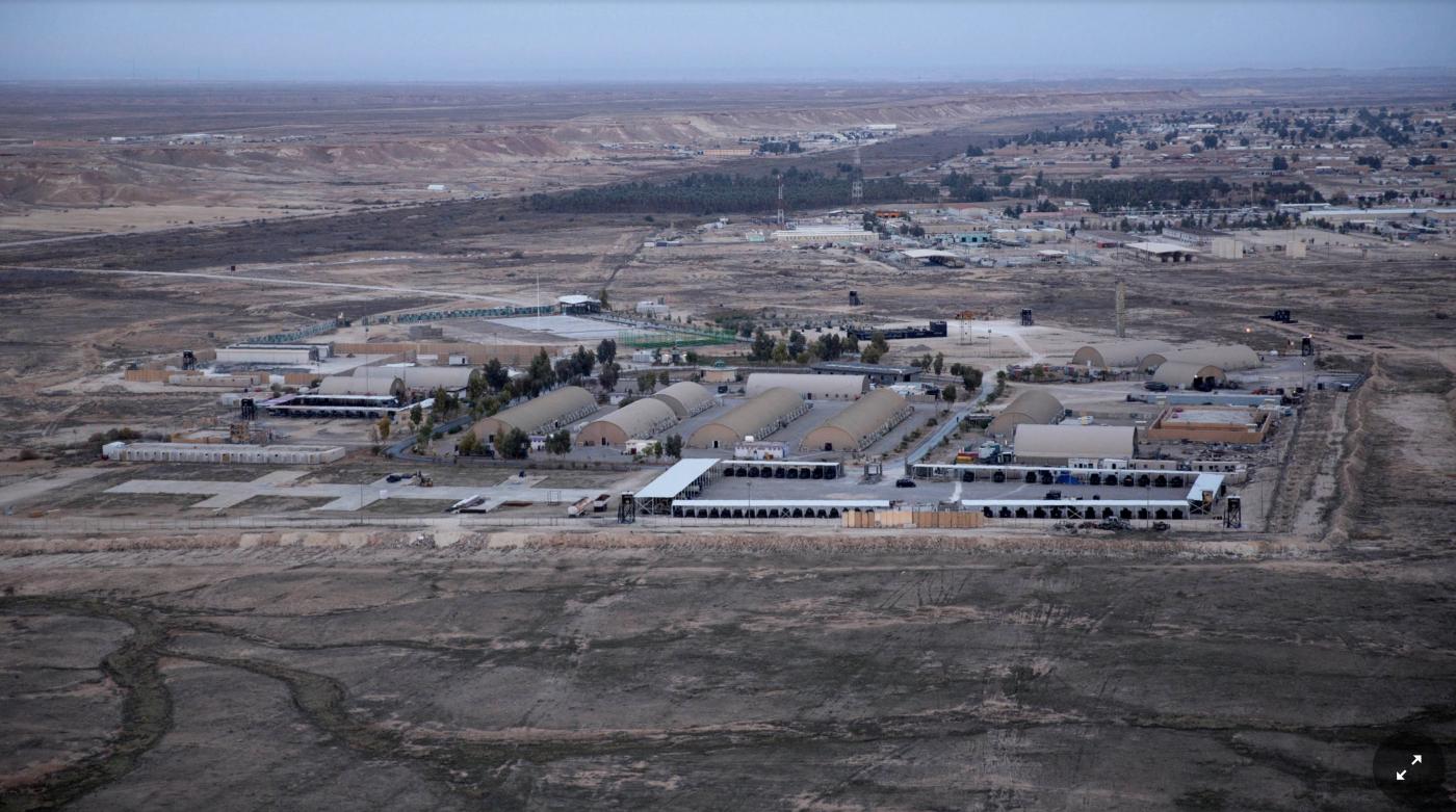 伊朗向伊拉克美军基地发射弹道导弹_图1-3