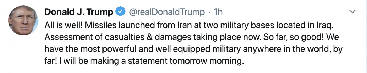 伊朗向伊拉克美军基地发射弹道导弹_图1-4