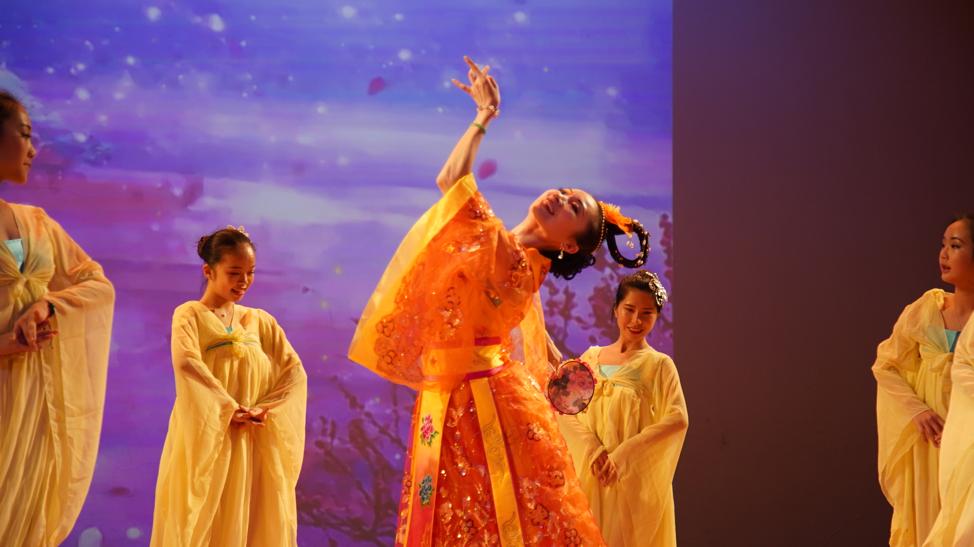 高娓娓:品味舞与画的艺术—梁坤钿舞蹈中心庆祝成立十周年庆典暨新年文艺演出圆满成功 ..._图1-9