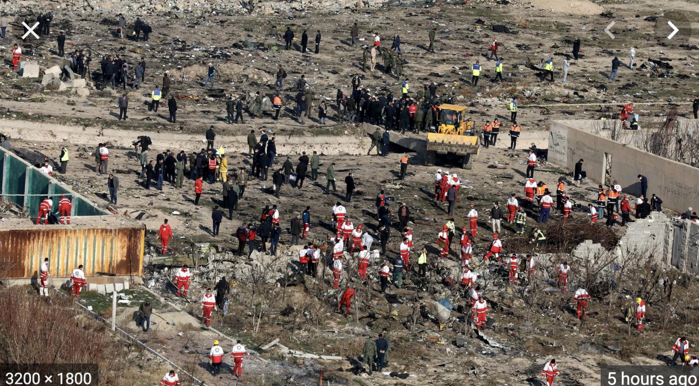 乌克兰民航客机是被伊朗导弹击落的?_图1-2