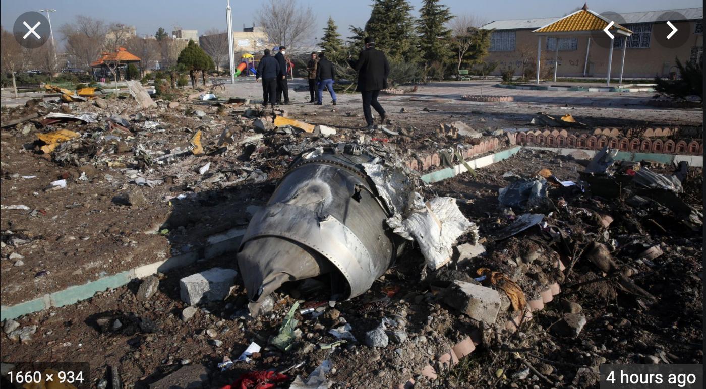 乌克兰民航客机是被伊朗导弹击落的?_图1-3