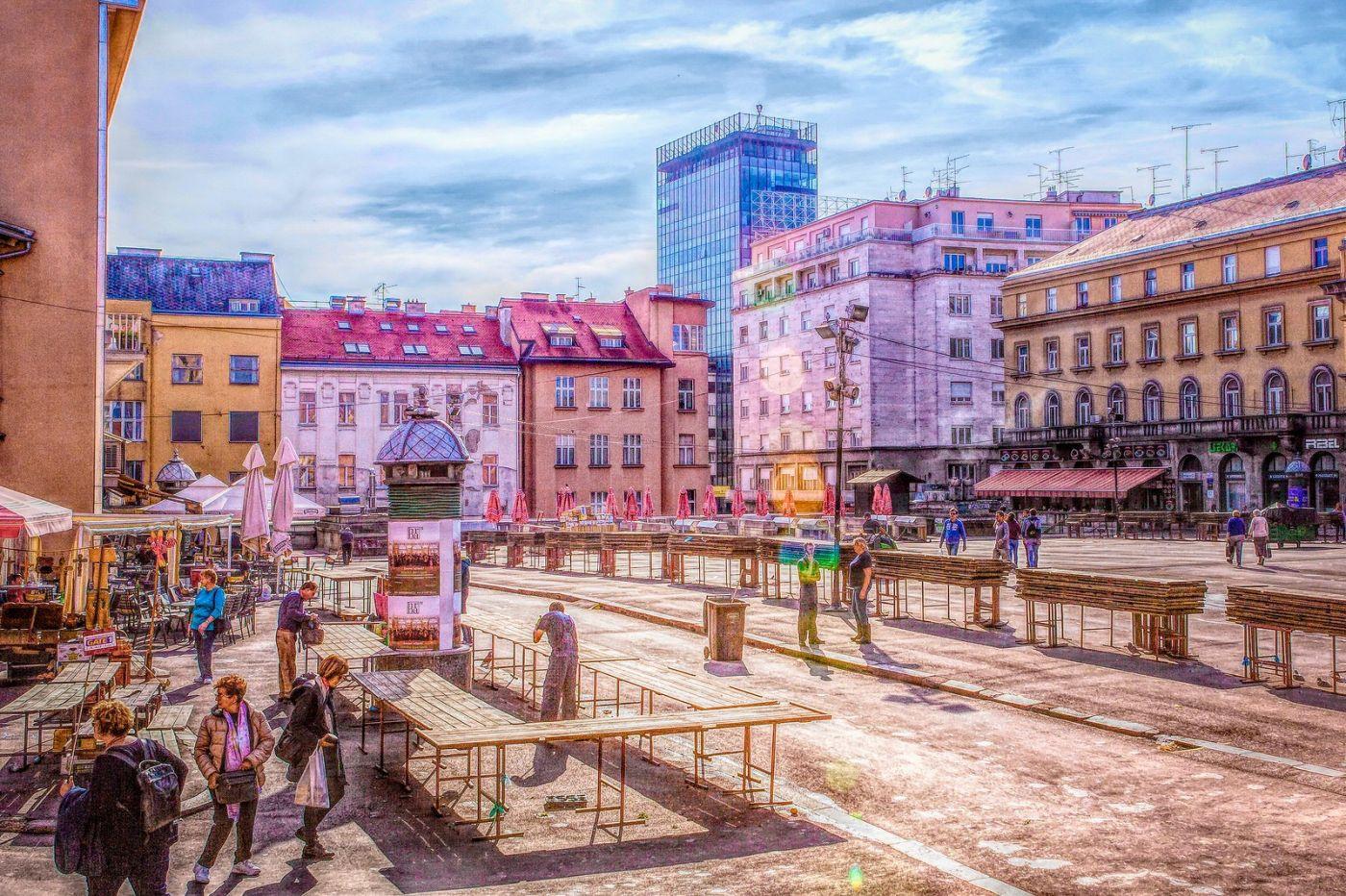 克罗地亚萨格勒布(Zagreb),走进画卷_图1-13