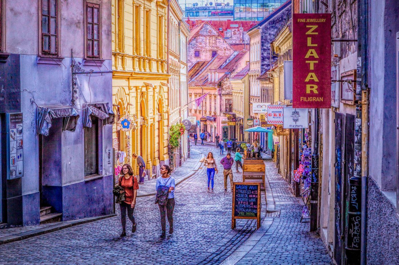 克罗地亚萨格勒布(Zagreb),走进画卷_图1-6