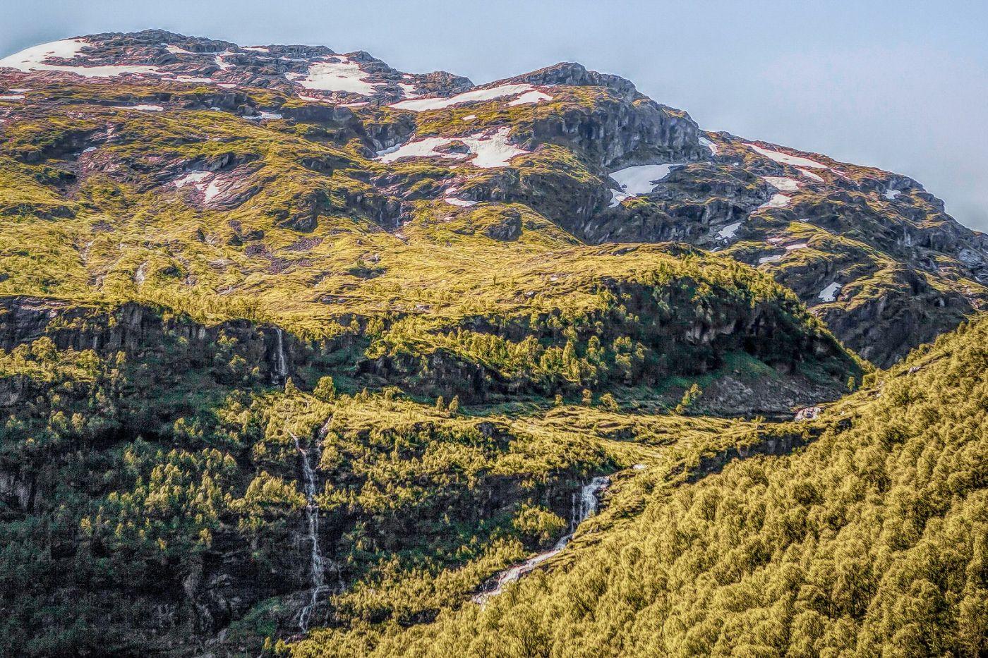 挪威弗拉姆铁路(Flam Railway),沿路的山水_图1-6