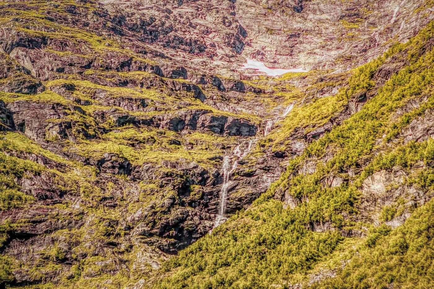 挪威弗拉姆铁路(Flam Railway),沿路的山水_图1-24