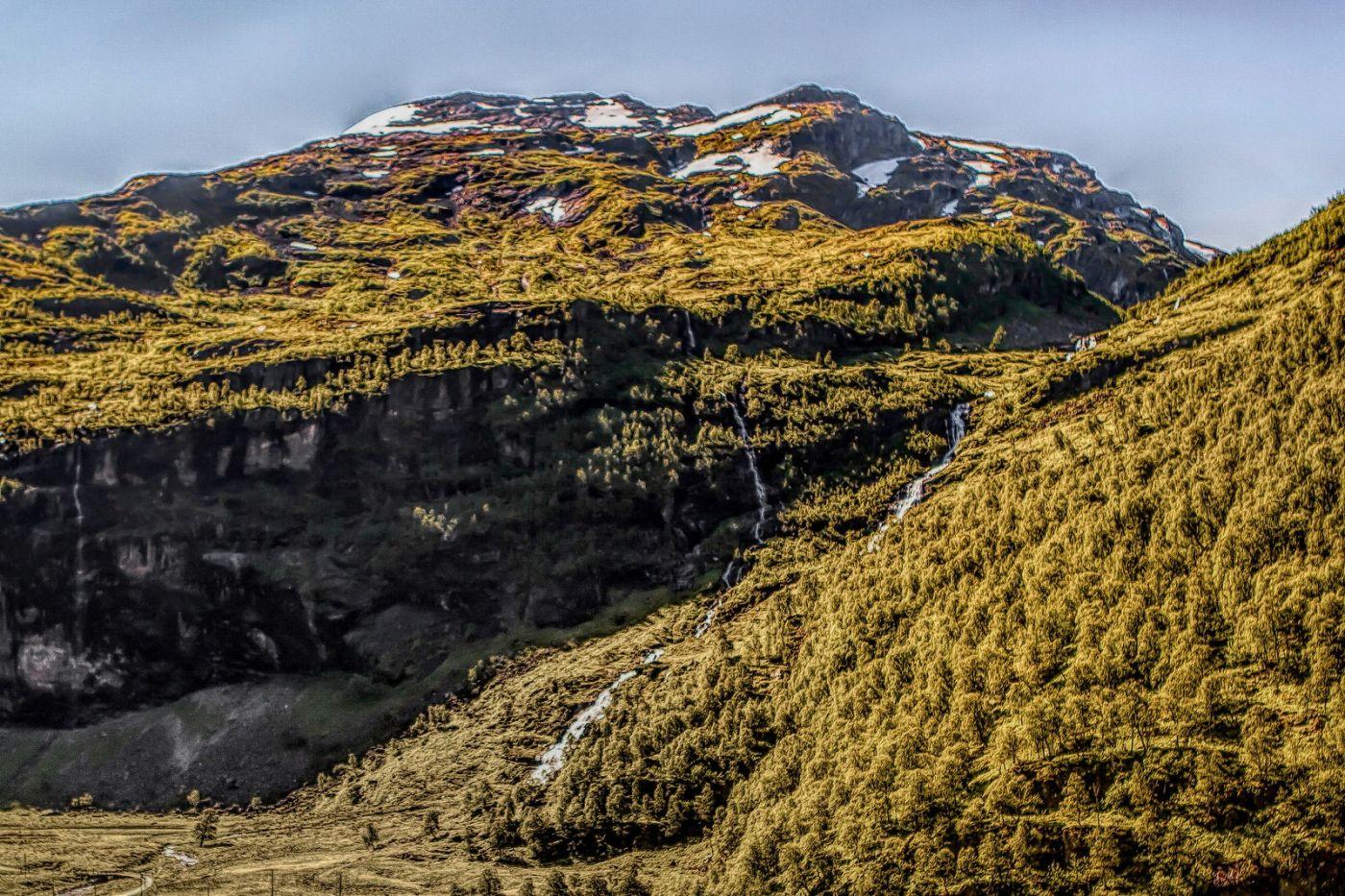 挪威弗拉姆铁路(Flam Railway),沿路的山水_图1-22