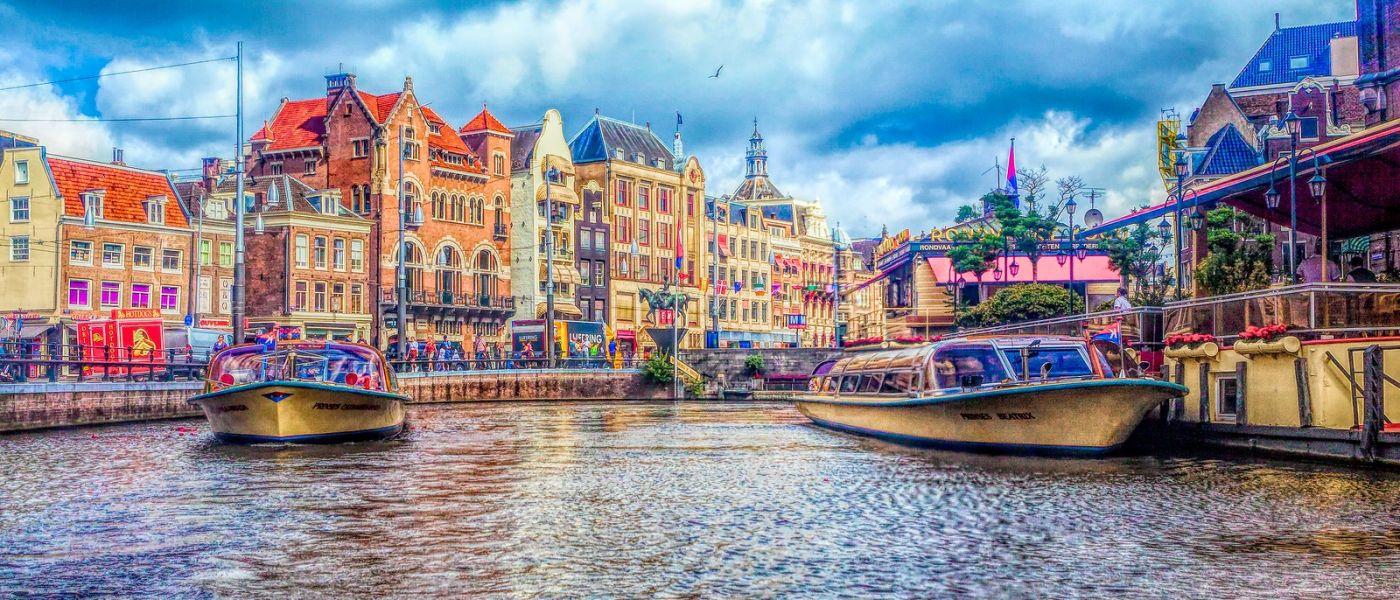 荷兰阿姆斯特丹,透过船窗看西洋_图1-1