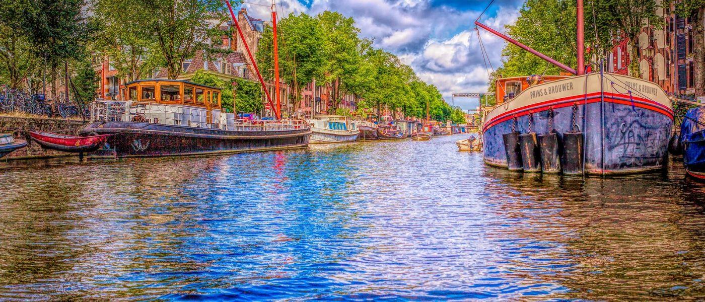 荷兰阿姆斯特丹,透过船窗看西洋_图1-7