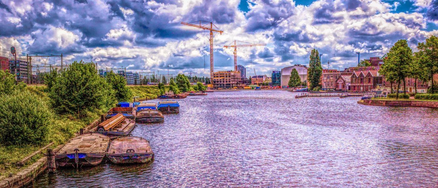 荷兰阿姆斯特丹,透过船窗看西洋_图1-6