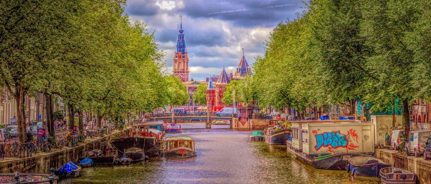 荷兰阿姆斯特丹,透过船窗看西洋_图1-4