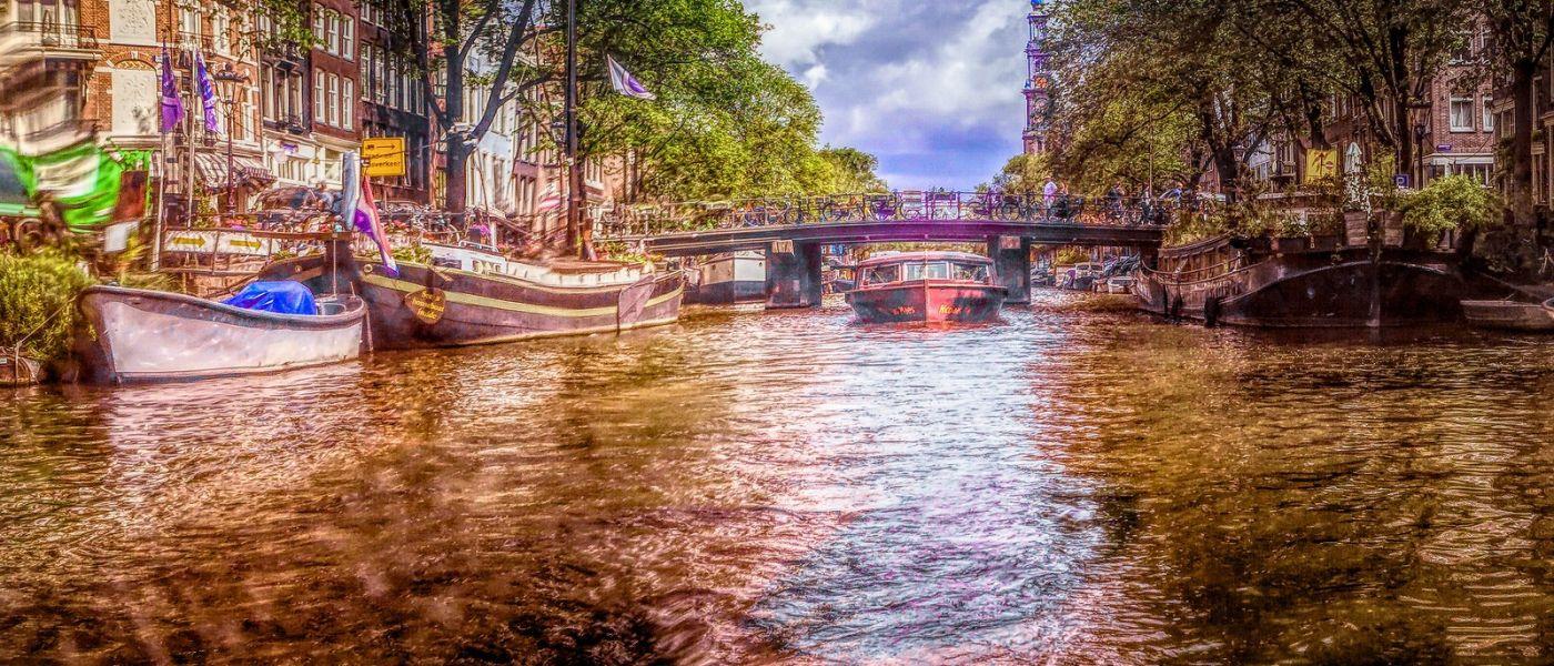 荷兰阿姆斯特丹,透过船窗看西洋_图1-8