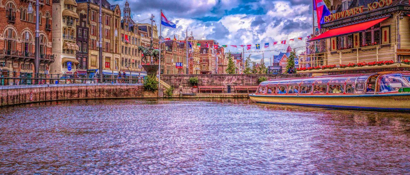 荷兰阿姆斯特丹,透过船窗看西洋_图1-10