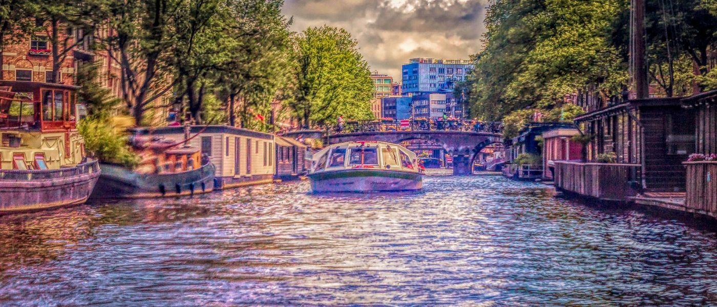 荷兰阿姆斯特丹,透过船窗看西洋_图1-11