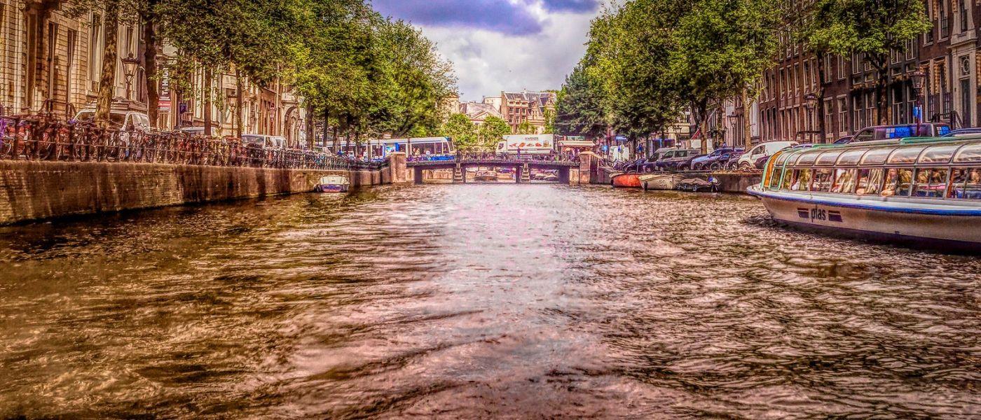 荷兰阿姆斯特丹,透过船窗看西洋_图1-12