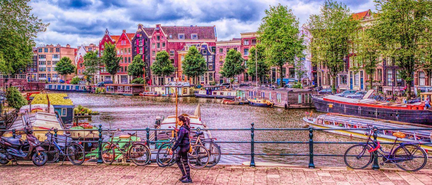 荷兰阿姆斯特丹,透过船窗看西洋_图1-16