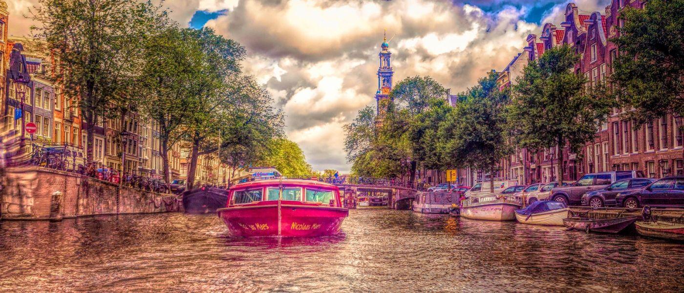 荷兰阿姆斯特丹,透过船窗看西洋_图1-14