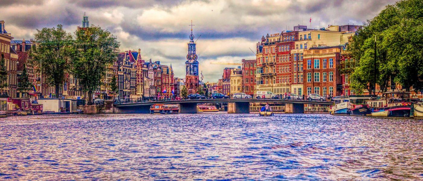 荷兰阿姆斯特丹,透过船窗看西洋_图1-13