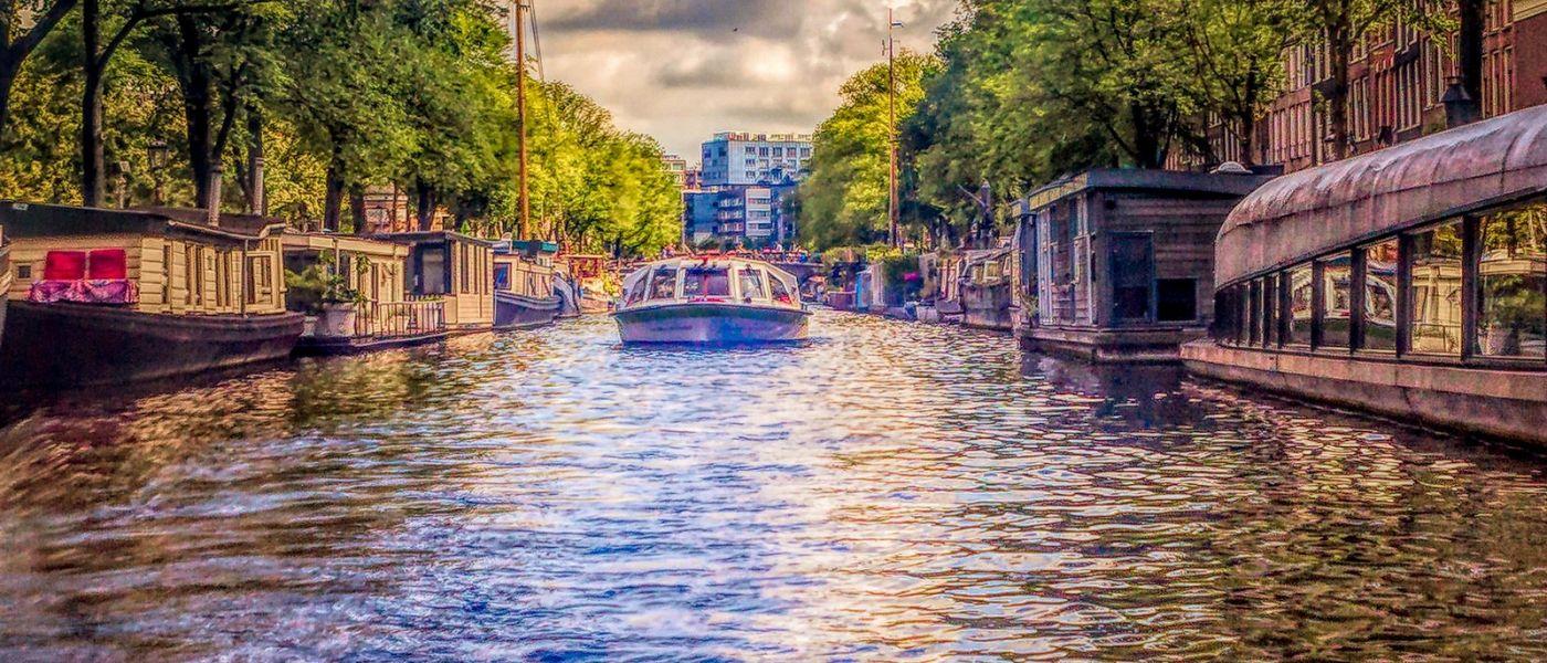 荷兰阿姆斯特丹,透过船窗看西洋_图1-17