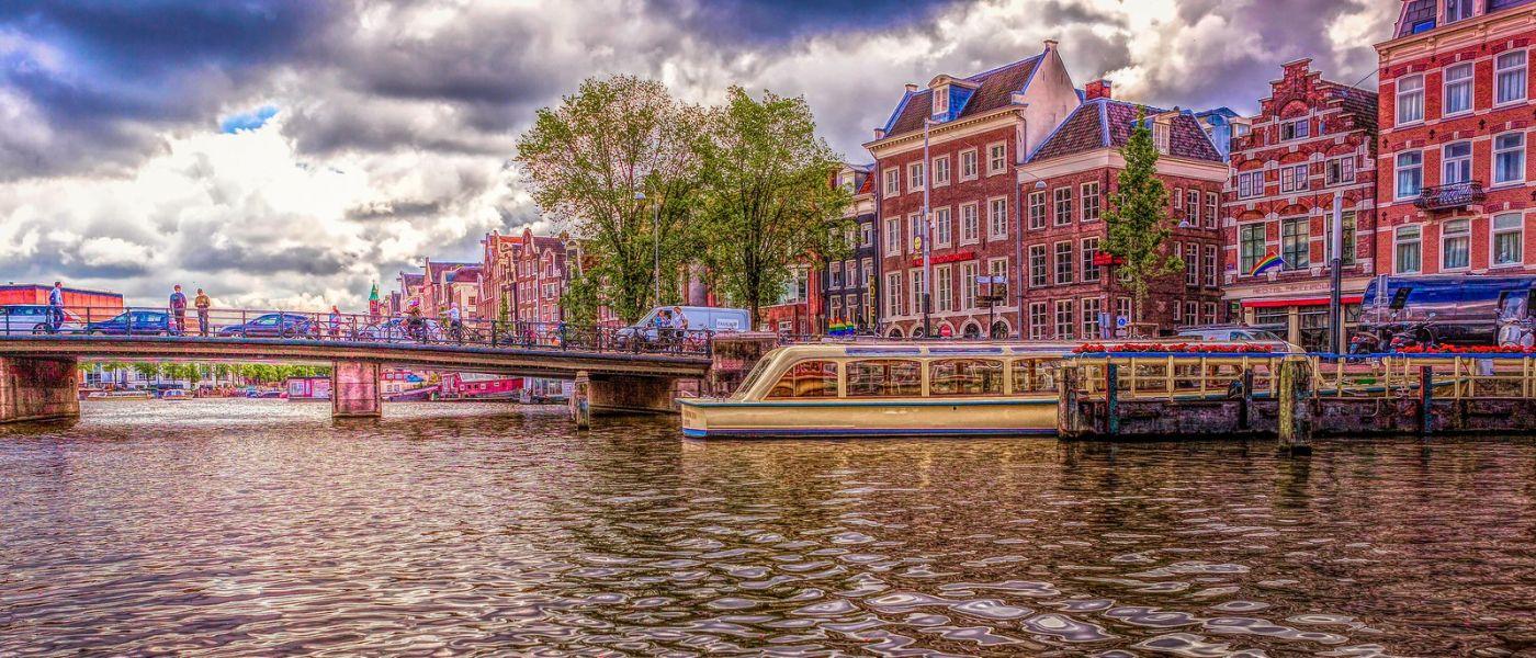 荷兰阿姆斯特丹,透过船窗看西洋_图1-18