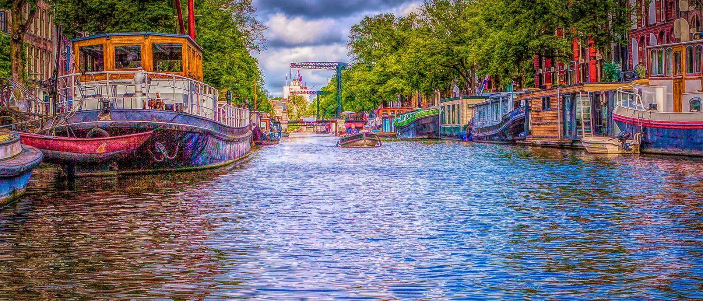 荷兰阿姆斯特丹,透过船窗看西洋_图1-19