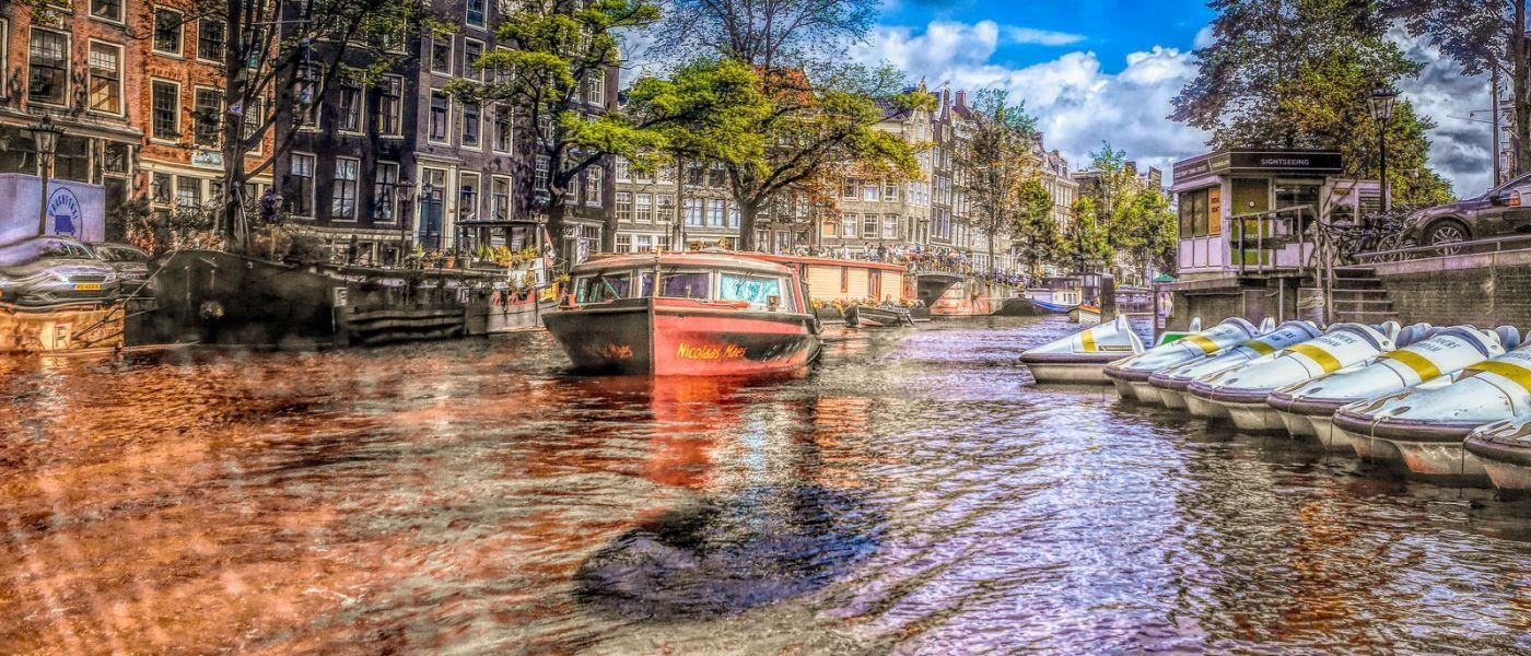 荷兰阿姆斯特丹,透过船窗看西洋_图1-20