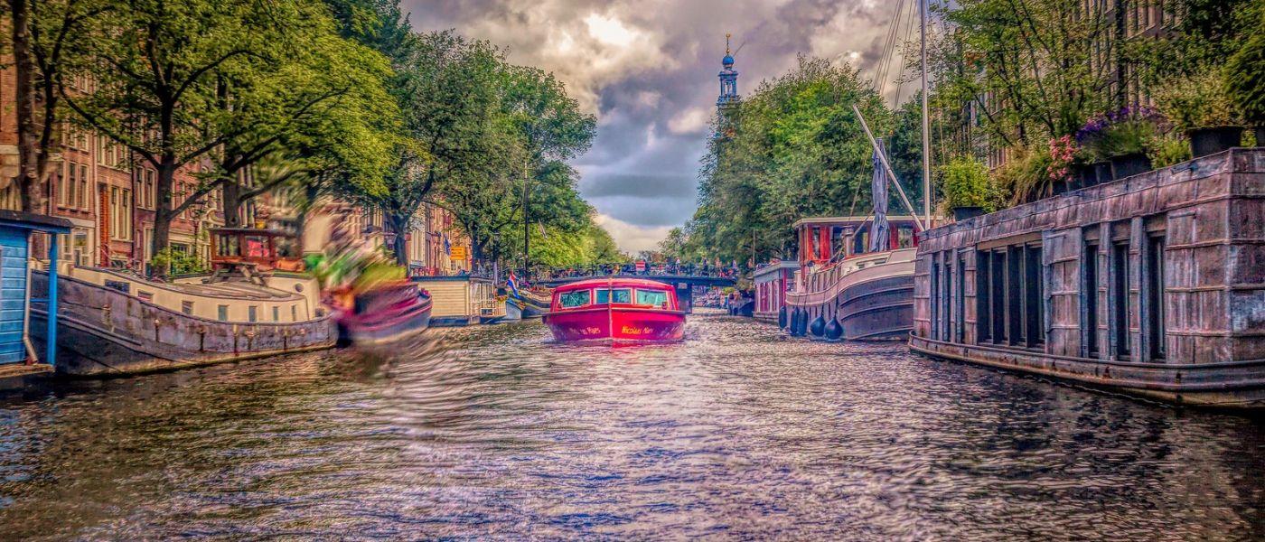 荷兰阿姆斯特丹,透过船窗看西洋_图1-24