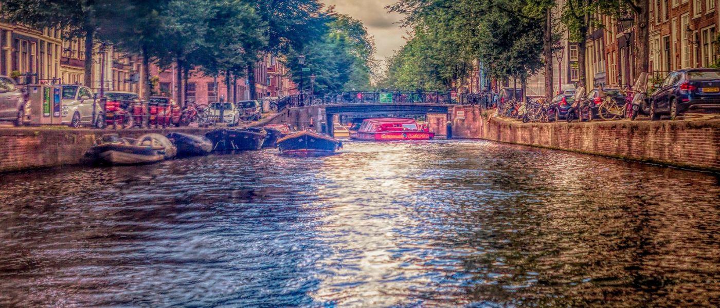 荷兰阿姆斯特丹,透过船窗看西洋_图1-22