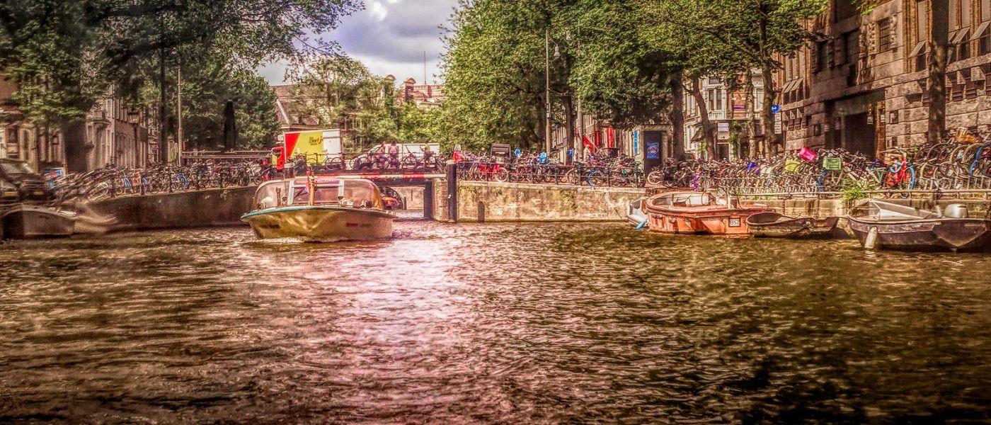 荷兰阿姆斯特丹,透过船窗看西洋_图1-25