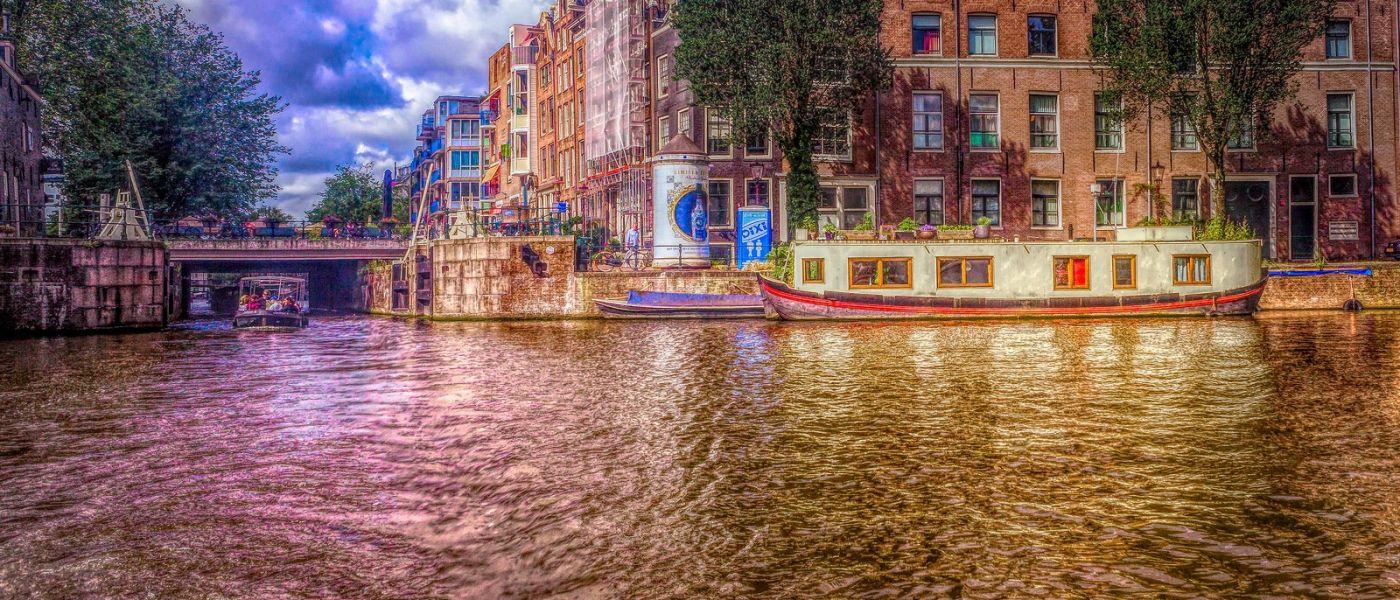 荷兰阿姆斯特丹,透过船窗看西洋_图1-27