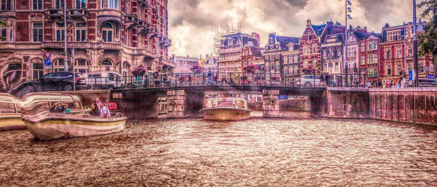 荷兰阿姆斯特丹,透过船窗看西洋_图1-32