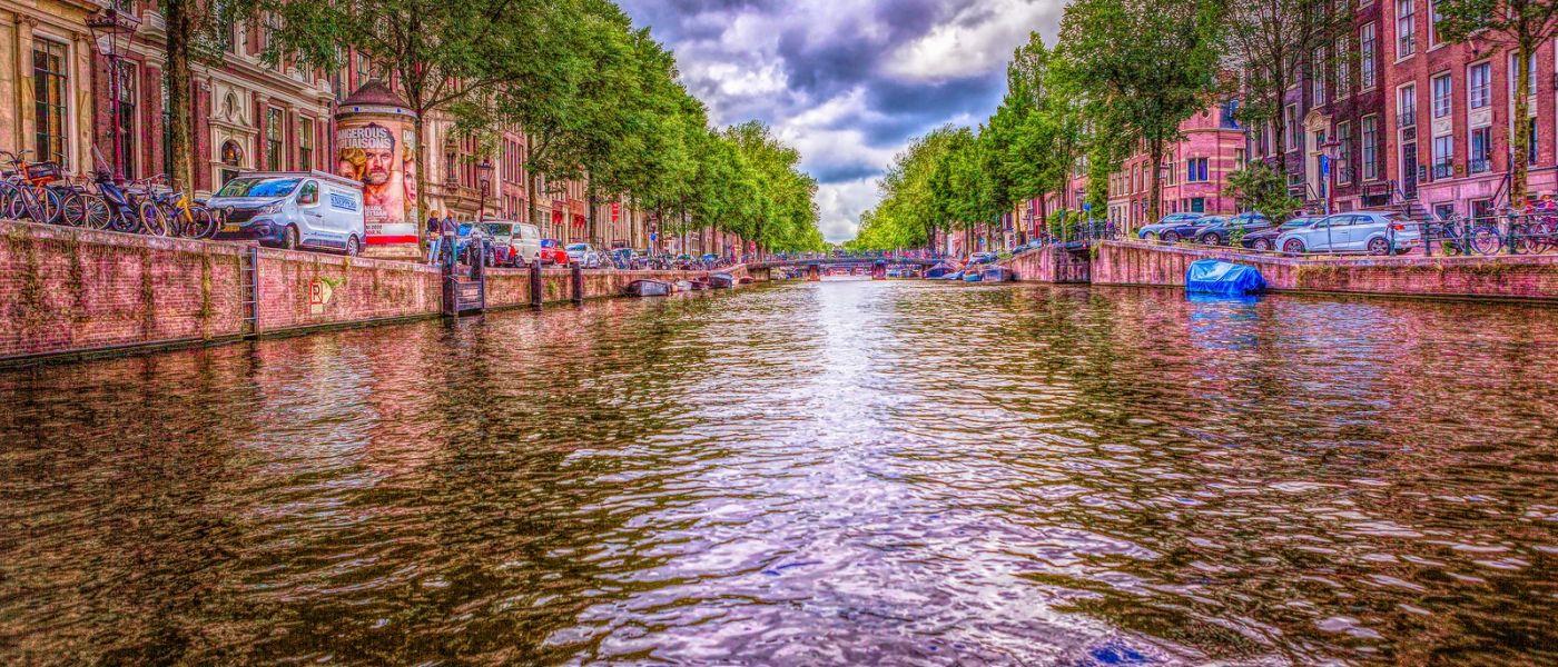 荷兰阿姆斯特丹,透过船窗看西洋_图1-28