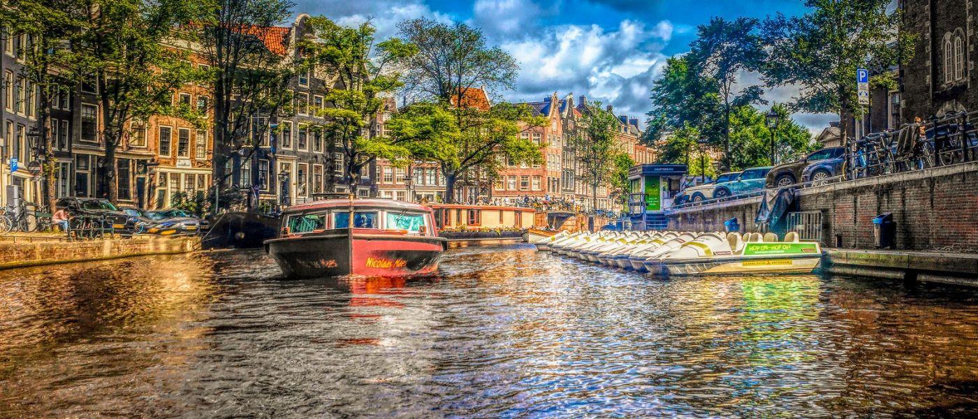 荷兰阿姆斯特丹,透过船窗看西洋_图1-31