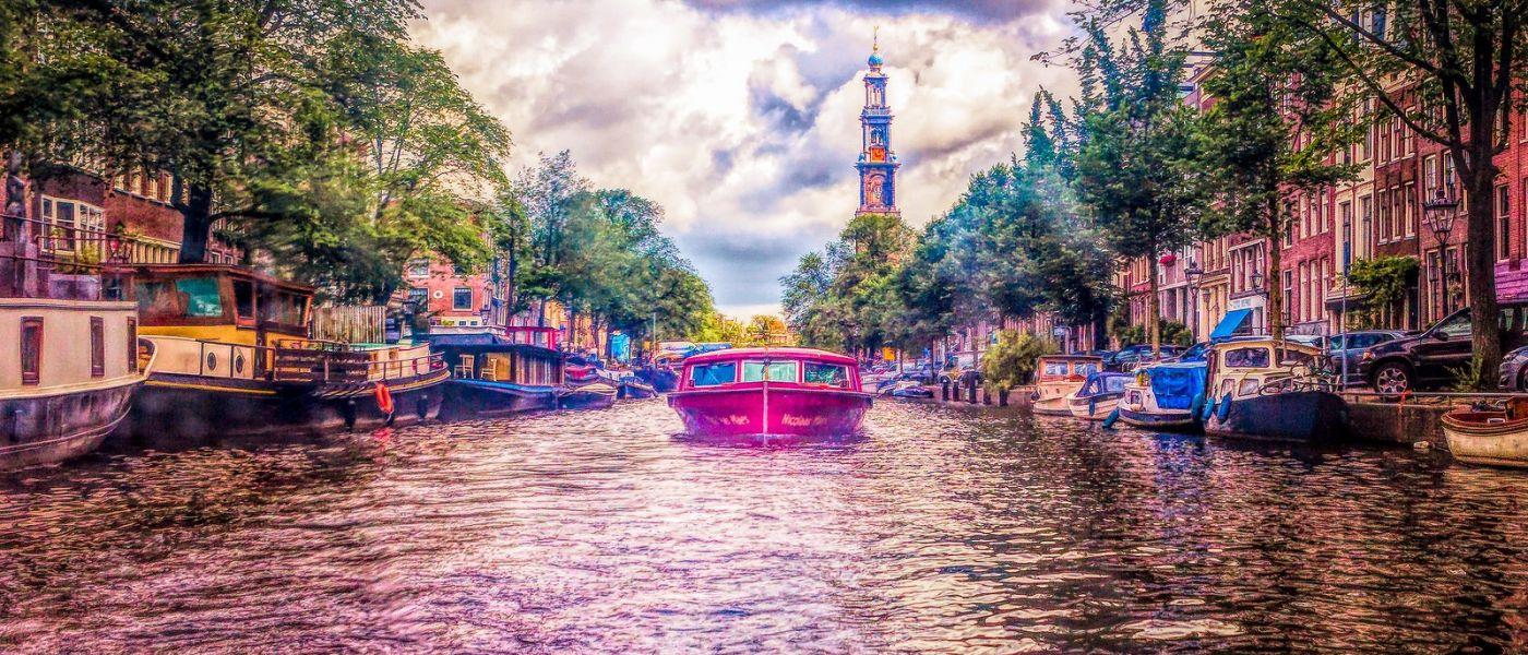荷兰阿姆斯特丹,透过船窗看西洋_图1-40
