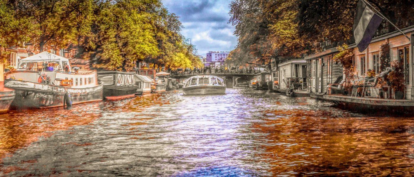 荷兰阿姆斯特丹,透过船窗看西洋_图1-36