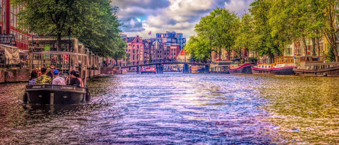 荷兰阿姆斯特丹,透过船窗看西洋_图1-39