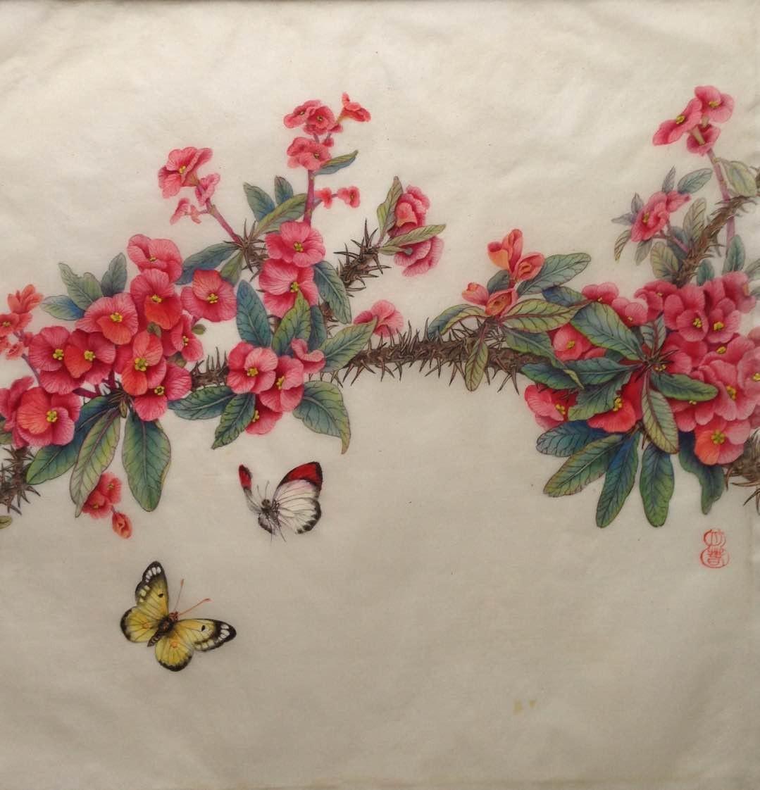 画家兰月春作品欣赏_图1-6
