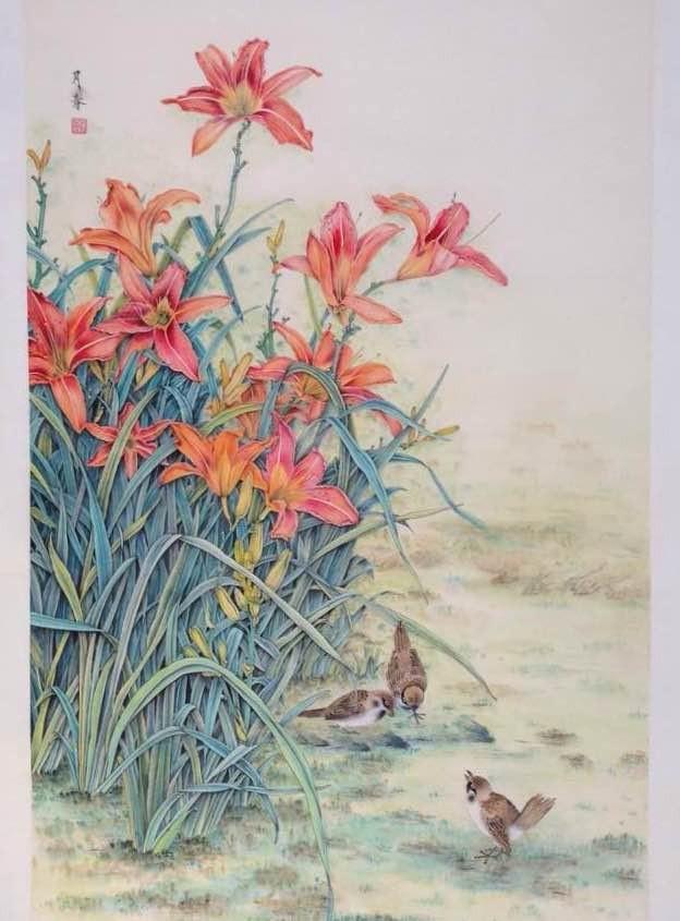 画家兰月春作品欣赏_图1-7