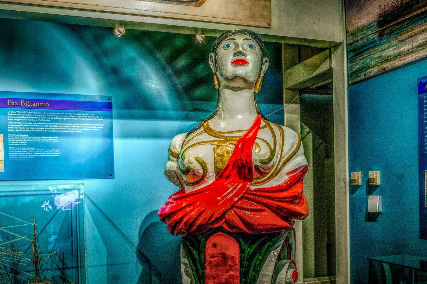 加拿大Halifax大西洋海事博物馆,展品丰富_图1-8