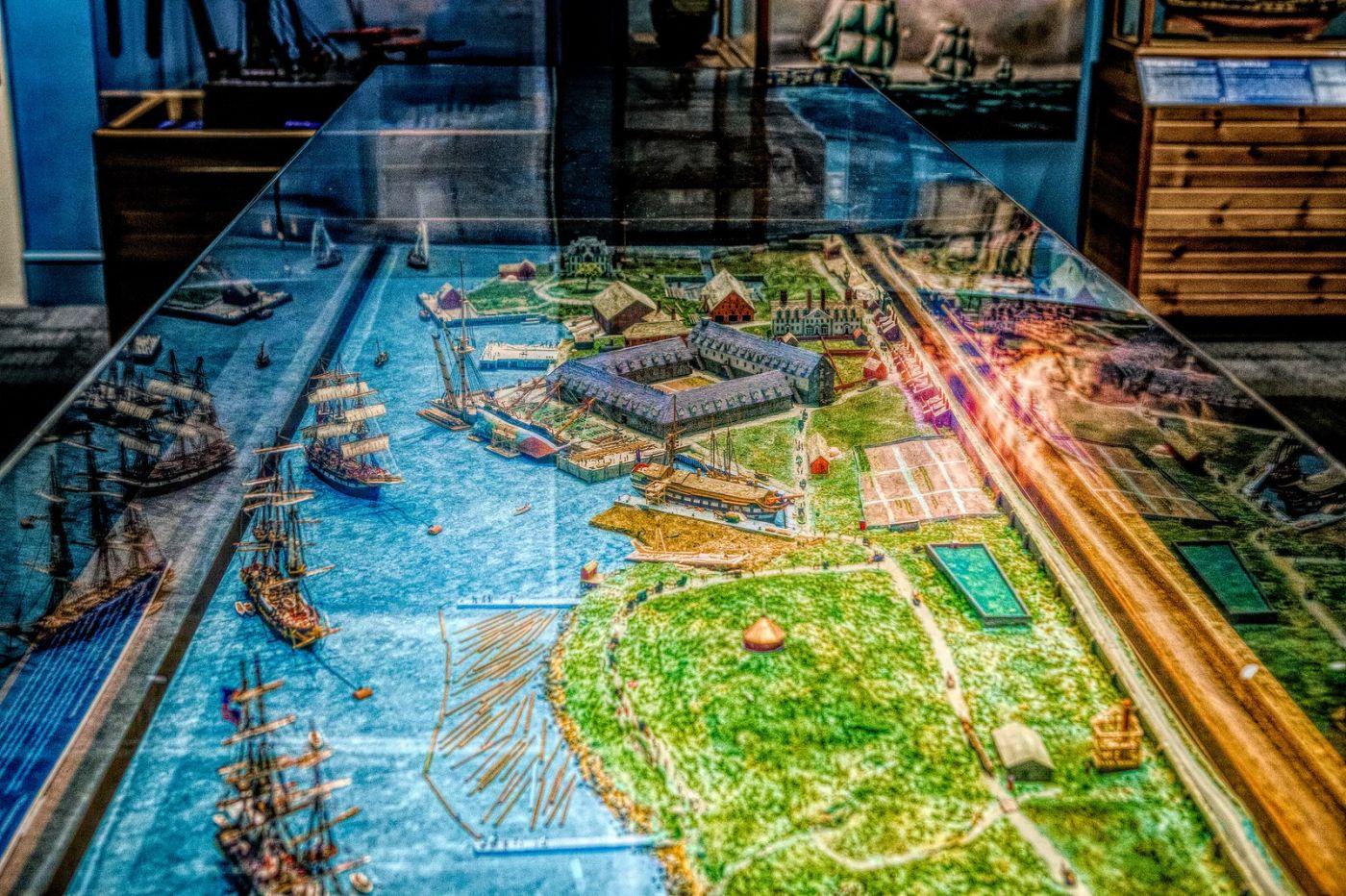加拿大Halifax大西洋海事博物馆,展品丰富_图1-16