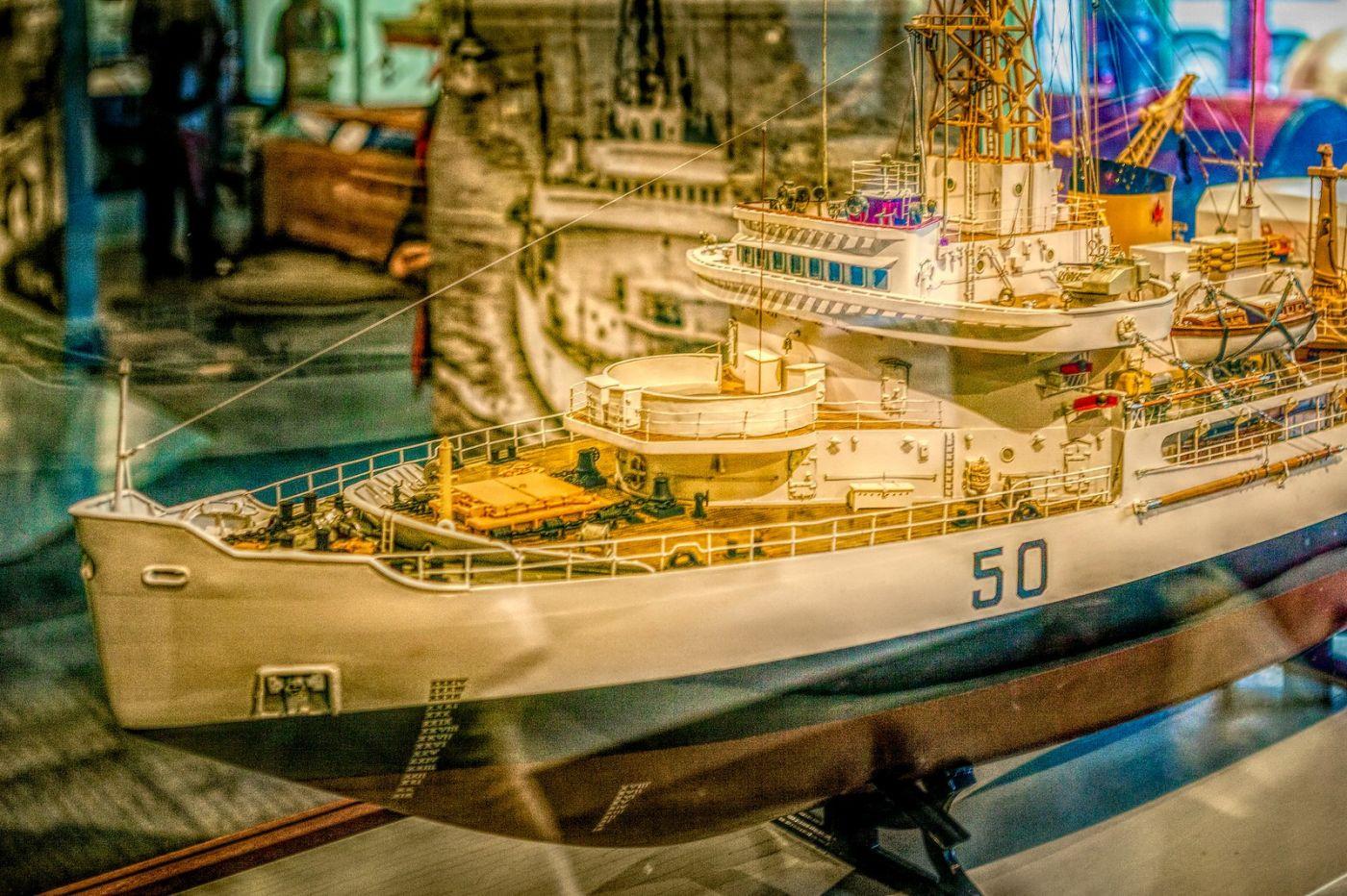 加拿大Halifax大西洋海事博物馆,展品丰富_图1-35