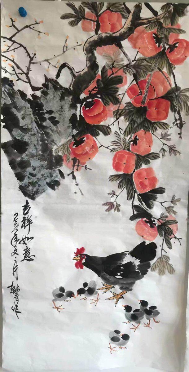 画家韩青作品欣赏_图1-4
