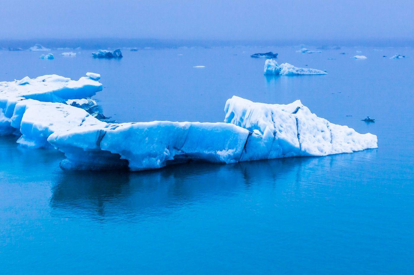 冰岛冰川泻湖(Glacier Lagoon),自然雕塑_图1-37