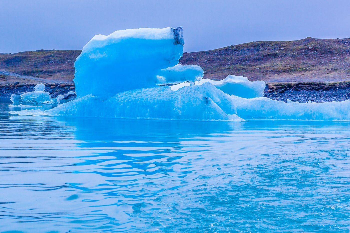 冰岛冰川泻湖(Glacier Lagoon),自然雕塑_图1-38