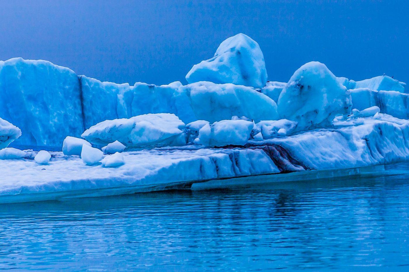 冰岛冰川泻湖(Glacier Lagoon),自然雕塑_图1-39