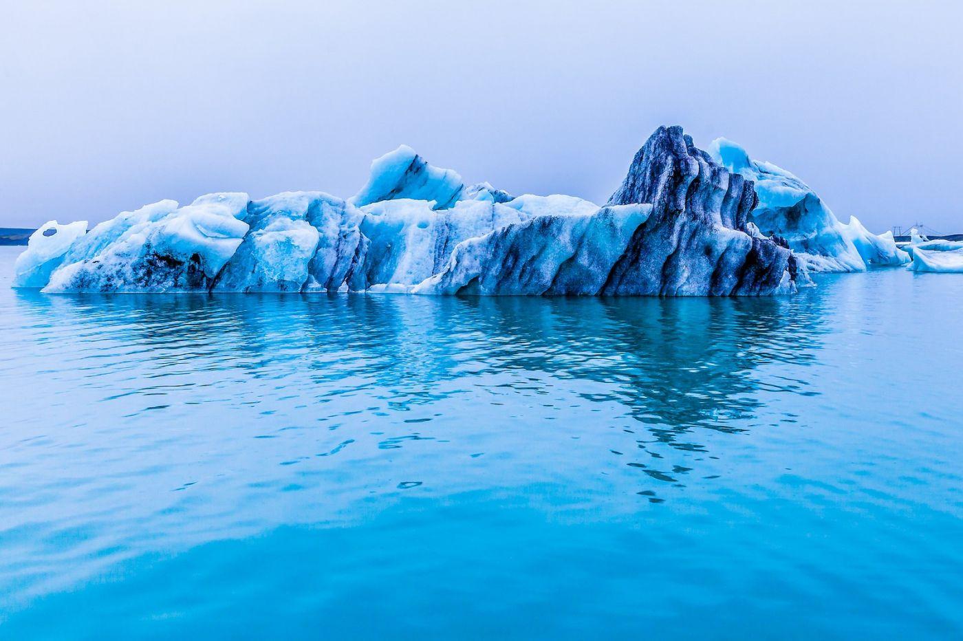 冰岛冰川泻湖(Glacier Lagoon),自然雕塑_图1-40