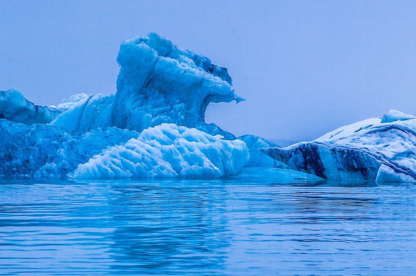 冰岛冰川泻湖(Glacier Lagoon),自然雕塑_图1-36