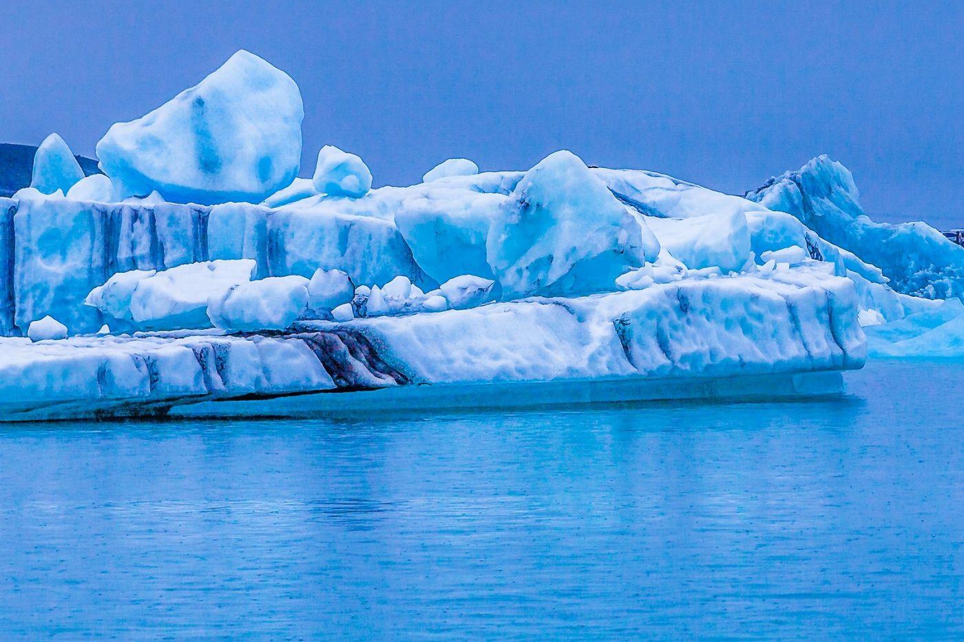 冰岛冰川泻湖(Glacier Lagoon),自然雕塑_图1-35